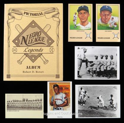 Negro Leagues Collection of (173) with (4) Postcard Sets