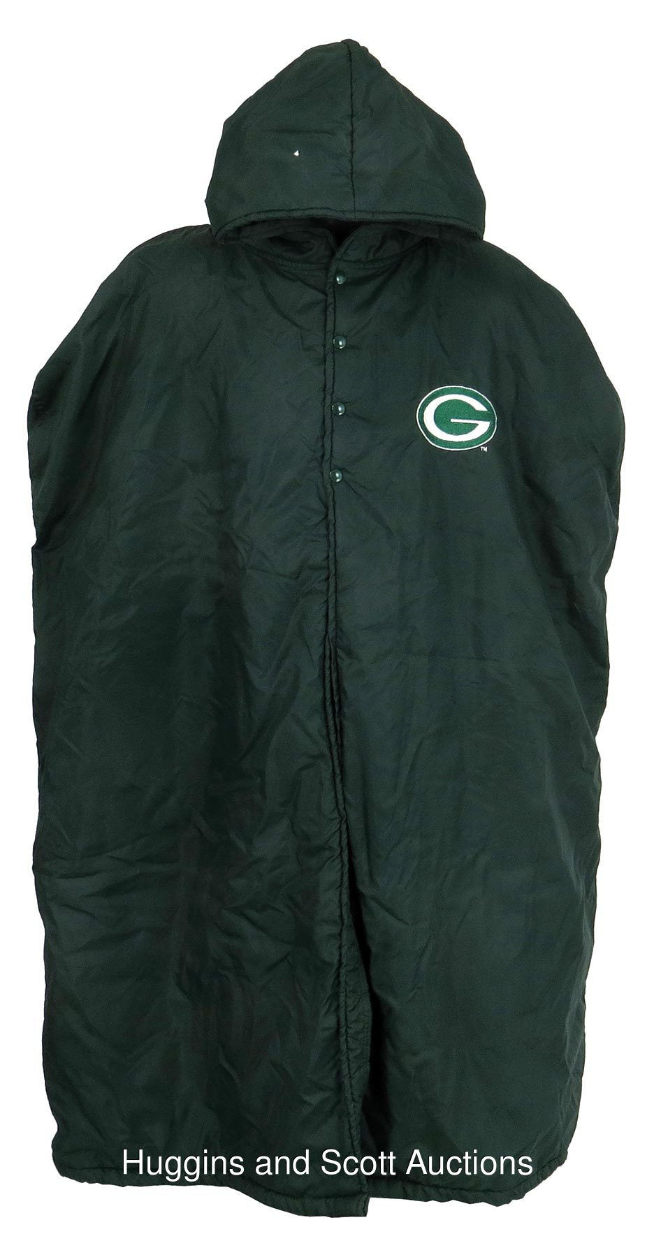 1990s Green Bay Packers Game Used Sideline Cape e8f5812f9