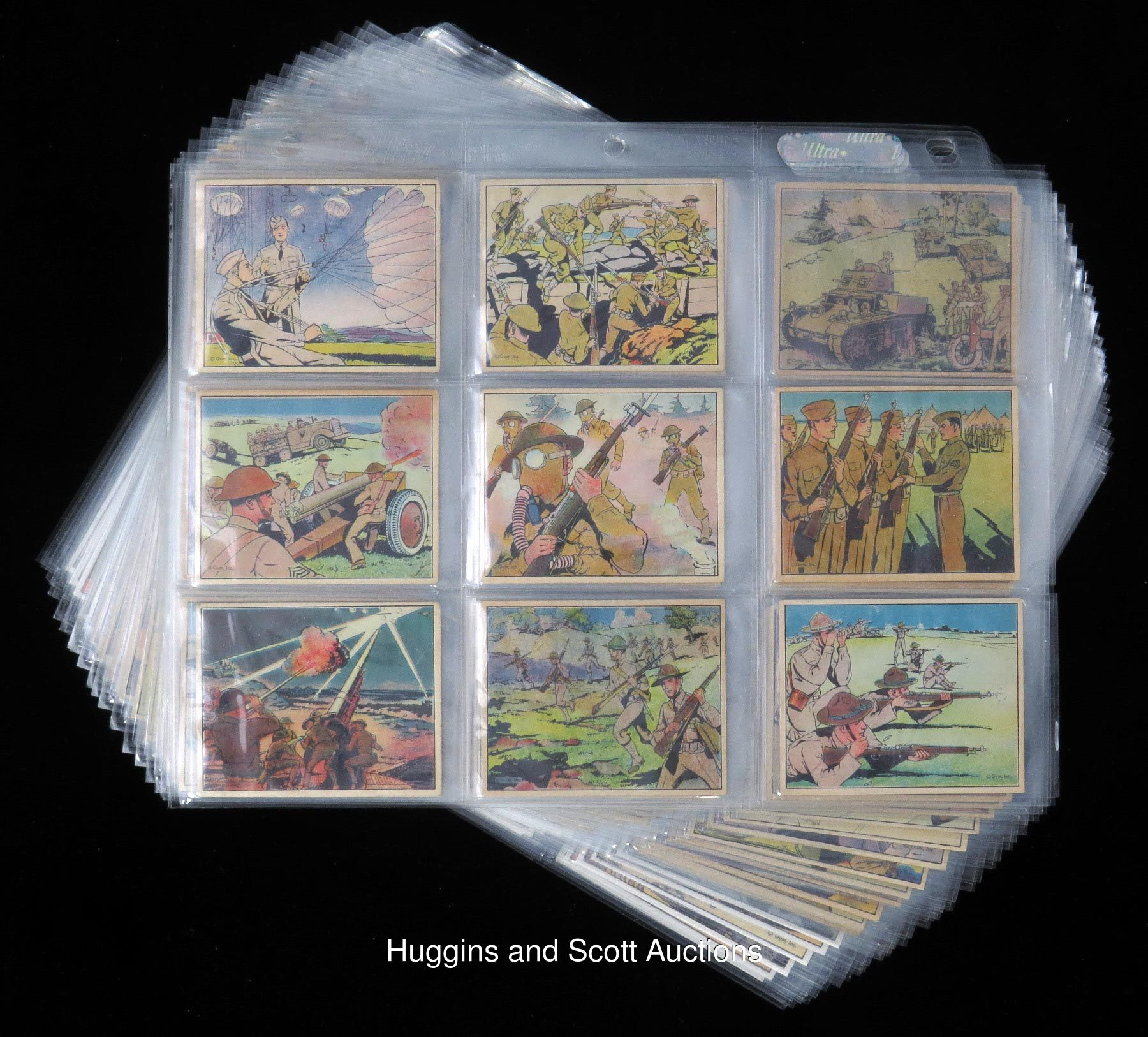 """1941 R157 Gum, Inc. """"Uncle Sam"""" Complete Set (96) And 1941"""